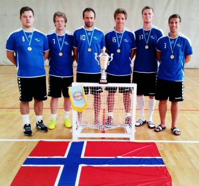 KSI Futsal fra Mikrofutsal-EM 2013 i Spania. Laget kom på bronseplass